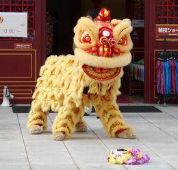 中国獅子舞公演